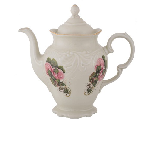 Teapot 1200ml Ecru