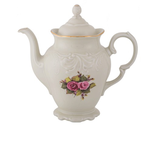Teapot Ecru Gold 1200ml