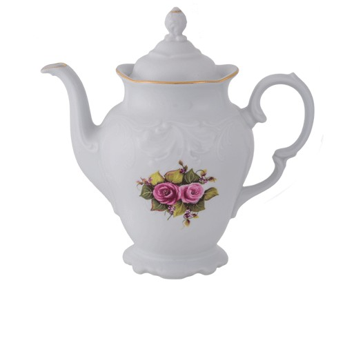 Teapot White Gold 1200ml