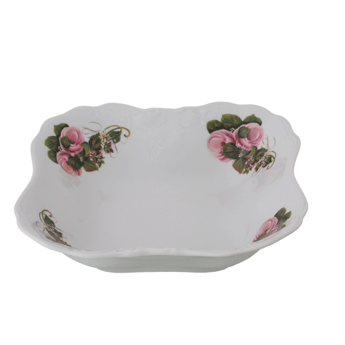 Square Salad Bowl 23cm